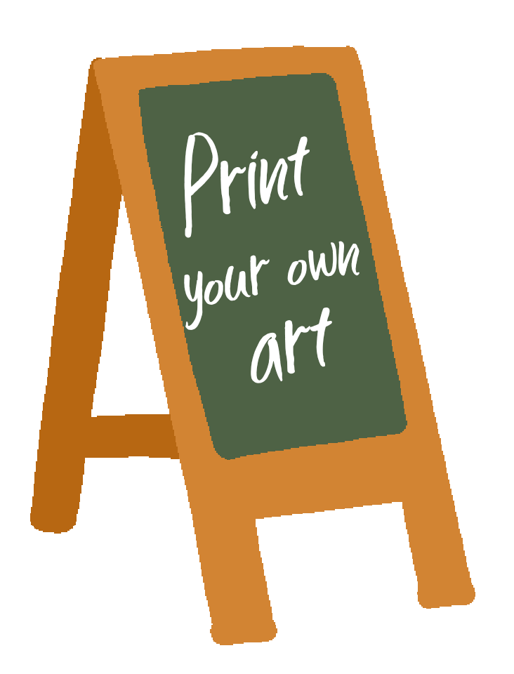 print your own art